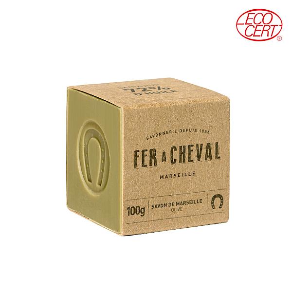 Fer à Cheval法拉夏 經典馬賽皂(橄欖油-方形) 100g【BG Shop】