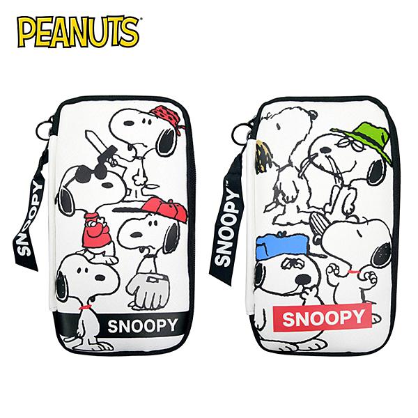 【日本正版】史努比 多功能 筆袋 收納包 鉛筆盒 Snoopy PEANUTS 027951 027968