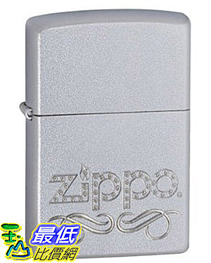 [美國直購 ShopUSA] Zippo Scroll Satin Chrome Lighter 24335 $851