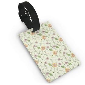 緑 ピンク柄 ネームタグ 子供 旅行タグ かわいい 荷物タグ スーツケースタグ キャラクター シリコン ラゲージタグ 出張用タグ 紛失防止 カバン装飾 トラベル メッセージ付き 便利