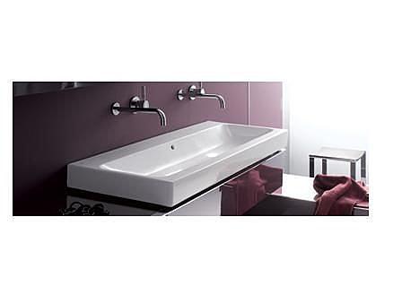 【麗室衛浴】德國 KERAMAG ICON系列 120*48.5CM  一體單槽盆 無龍頭孔 124025