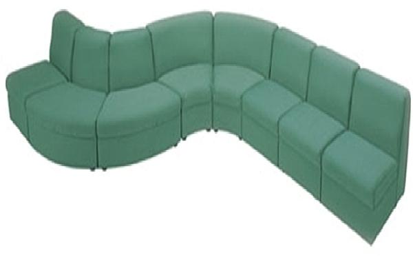 MS71-CSL306-01    組合式沙發--透氣皮-單張