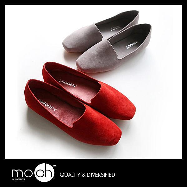 (24hr出貨) 歐美真皮方頭柔軟平底鞋 百搭 舒適 金屬色 低跟 多色 折疊 娃娃鞋