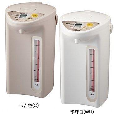 虎牌TIGER 4.0L微電腦電熱水瓶PDR-S40R(免運費)