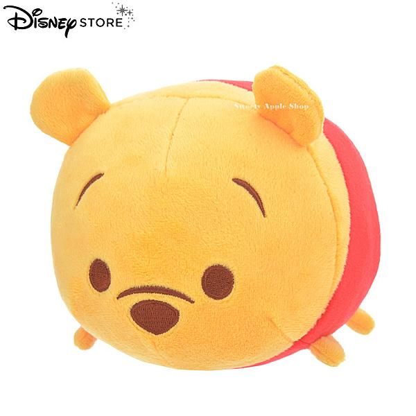 日本 Disney Store 迪士尼商店 限定  TSUM TSUM 茲姆茲姆樂園 小熊維尼 玩偶娃娃(S)