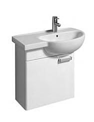 【麗室衛浴】德國 KERAMAG  RENOVA系列  盆櫃組 左平檯  70*40CM 122070