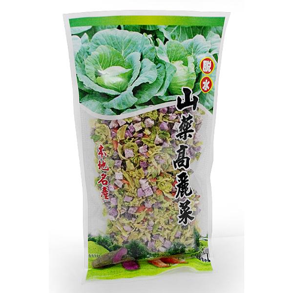 【台灣尚讚愛購購】曹山產行-高山脫水高麗菜+山藥300g