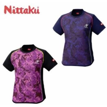 ニッタク Nittaku 卓球ウェア レディース FLAGE LADIES SHIRT フラージュレディースシャツ NW-2188 rkt