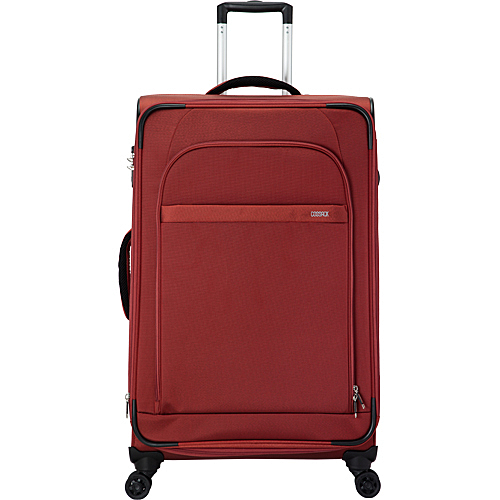 COSSACK LEADING領航系列3 布箱可加大 行李箱/旅行箱29吋-磚紅色-