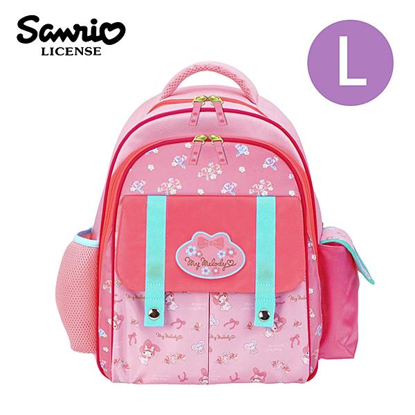 【正版授權】美樂蒂 兒童背包 L號 後背包 背包 書包 My Melody 三麗鷗 Sanrio - 977206