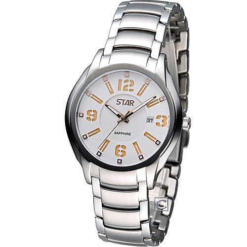 STAR 時代 時尚摩登仕女腕錶 1T1407-151RG-W