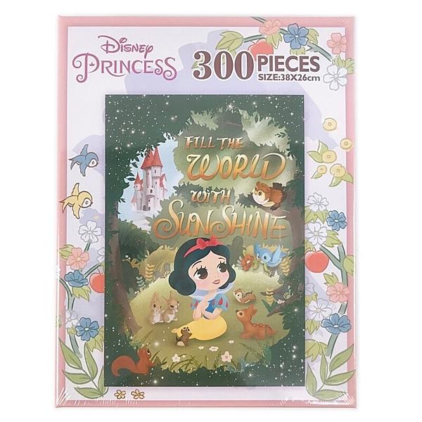 迪士尼 白雪公主拼圖 300片拼圖 QFQ02K /一盒入(促260) 38cm x 26cm 迪士尼公主  MIT製