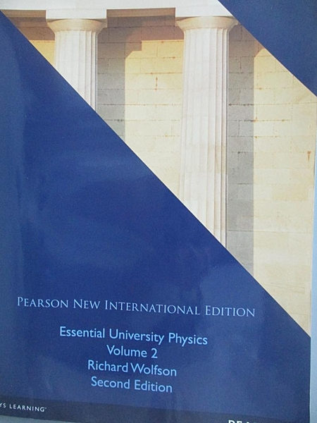 【書寶二手書T2/大學理工醫_ETC】Essential University Physics Volume 2_wol