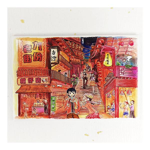 【收藏天地】台灣紀念品*創意特色磁鐵 - 九份遊憩 /  旅遊 紀念品 手信 景點