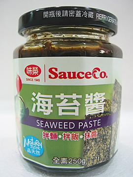 味榮~海苔醬250公克/罐