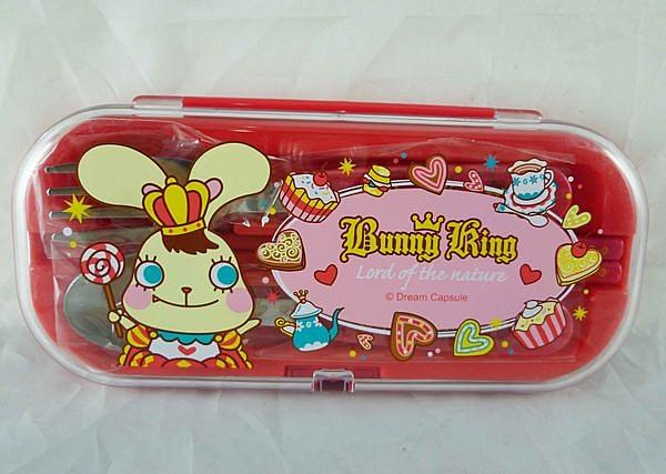 【震撼精品百貨】 Bunny King_邦尼國王兔~餐具組