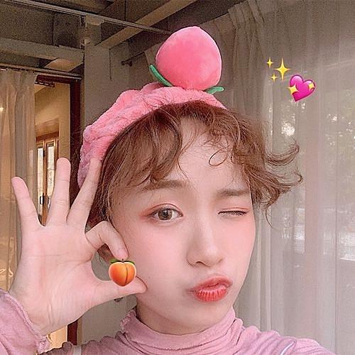 【超取399免運】韓國ins水蜜桃洗臉髮帶 可愛少女心桃子頭帶 髮飾