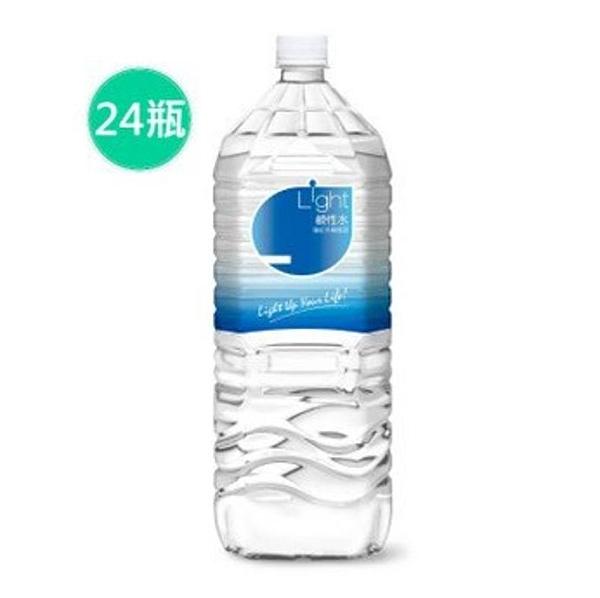 代購 悅氏 light鹼性水 2200mlx24入 鹼性水 飲用水 礦泉水 限宅配