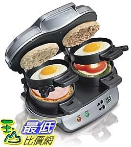 [2美國直購] Hamilton Beach 25490A 雙份漢堡三明治機 Dual Breakfast Sandwich Maker