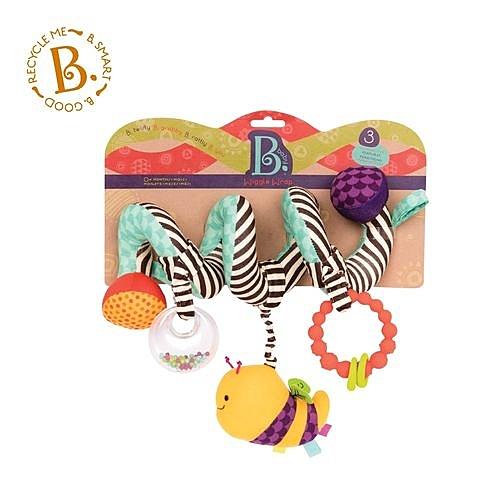 美國【B.Toys】蜜蜂團團轉 (推車掛飾)BX1454Z[衛立兒生活館]