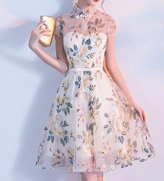 (45 Design高雄實體店面)  定製七天 婚紗  晚禮服 洋裝 長禮服 伴娘服 前短後長 短禮服 大尺寸7