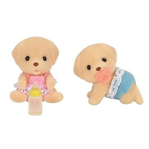 《 森林家族 - 日版 》拉不拉多雙胞胎 / JOYBUS玩具百貨