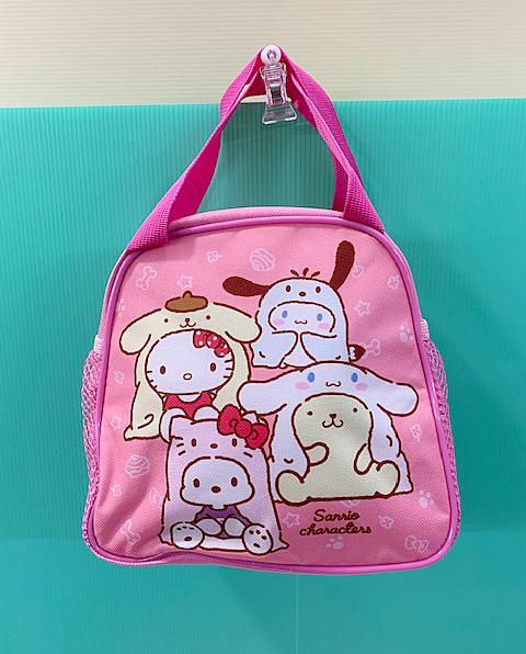 【震撼精品百貨】Hello Kitty 凱蒂貓~Sanrio HELLO KITTY手提袋/收納袋-變裝#38964