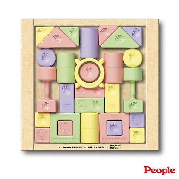 People 彩色米的積木組合