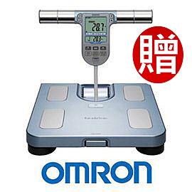 OMRON 歐姆龍體脂計 HBF-371(藍色)-(贈皮脂夾 )