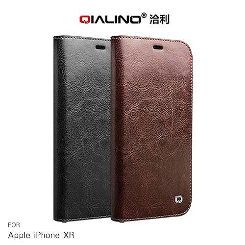 摩比小兔~QIALINO Apple iPhone XR 經典皮套 手機殼 保護殼  保護套