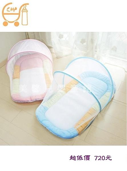 GMP BABY寶寶厚蚊帳睡墊/嬰兒蚊帳(XW6-101-P粉色) 790元