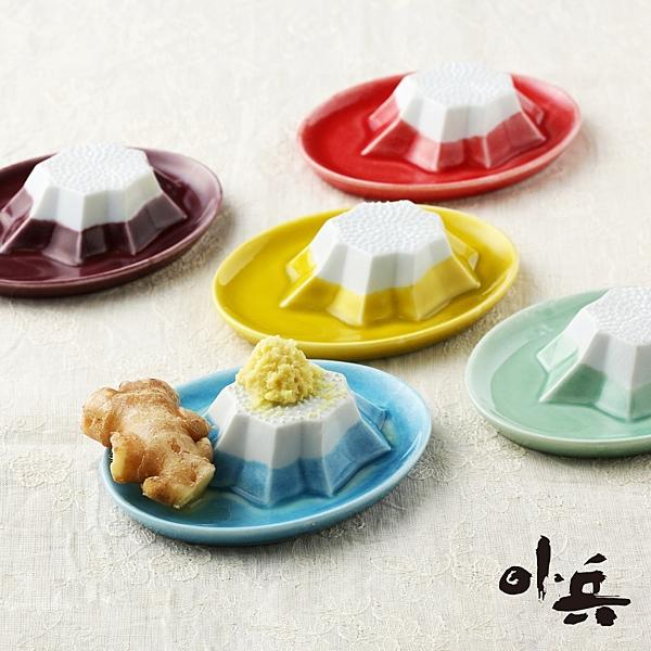 KANEKO小兵製陶所 - 美濃燒富士山磨泥器/混醬碟 鈴木太太