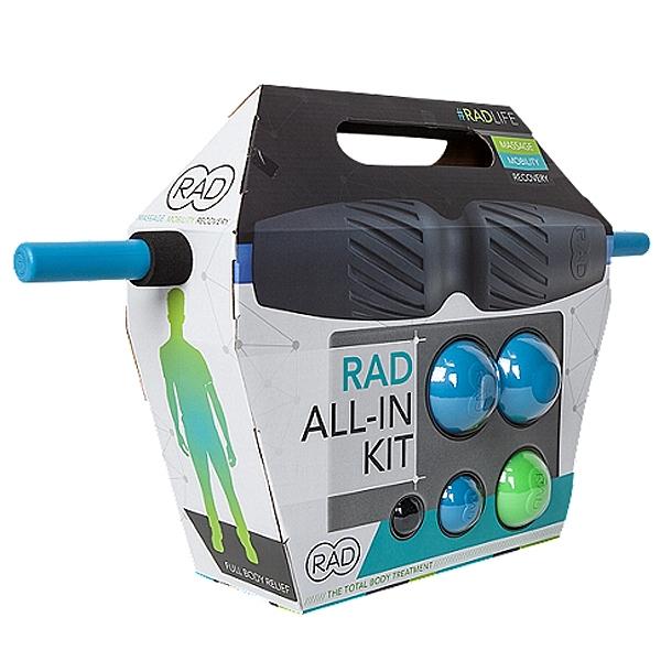 台同健康活力館|RAD All In Kit全系列套組 (HELIX+ROD+BLOCK+ROUNDS+ROLLER)SMR自我筋膜放鬆