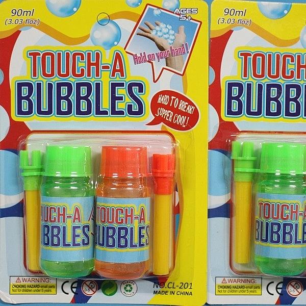 吹不破泡泡水 CL-201 吹泡泡水(大)/一袋10卡入(一卡2瓶)(促50)-CF115769