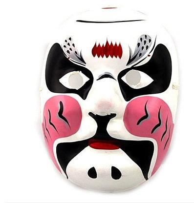 盛泉手繪石膏紙漿面具 中式國粹變臉 工藝京劇臉譜