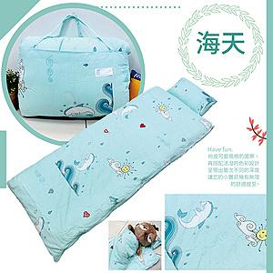 【TRP】兒童冬夏兩用舖棉書包睡袋(多款任選)海天