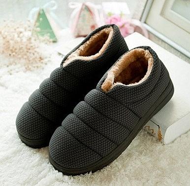 包跟 可愛 冬季 保暖 厚底防滑 室內居家拖鞋