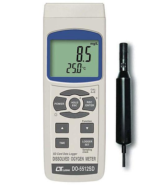 TECPEL 泰菱 路昌 LUTRON DO-5512SD 記憶式氧氣分析儀