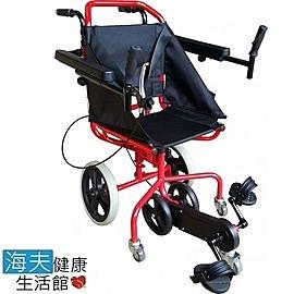 【海夫健康生活館】杏華機械式輪椅(未滅菌) 踏踏Me 復健型 輪椅 (OP-PW1-2RD)