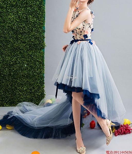 (45 Design)    7天到貨 客製化顏色大尺碼訂做訂做 日韓婚紗長禮服 高級訂製小禮服 大尺碼48