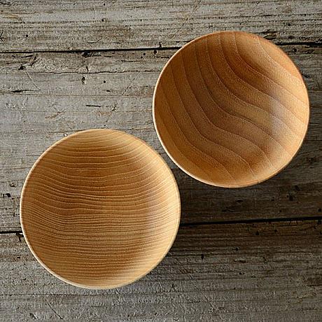 日式和風料理餐具 手工制作原木小碗 4英寸小飯碗
