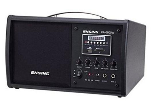 《名展影音》燕聲ensing KA-6600W 多功能手提式收音機 無線MIC