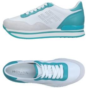 《セール開催中》HOGAN レディース スニーカー&テニスシューズ(ローカット) ホワイト 34.5 革