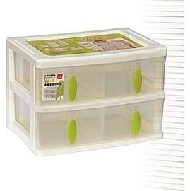 聯府 清靜居家收納盒(4格) W4 W-4 分格抽屜整理箱