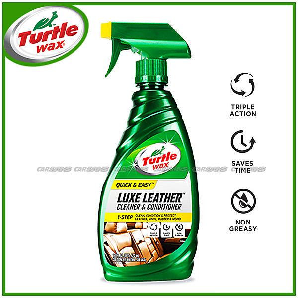 【愛車族購物網】美國龜牌Turtle Wax T363 雙效皮革乳液