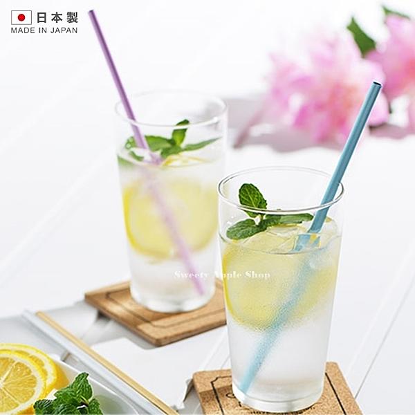★日本製 ★ 日本限定 IDEA SEKIKAWA 鋁製吸管 / 環保吸管 (藍色/桃粉色)