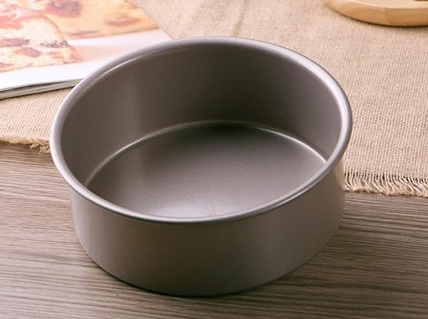 【協貿國際】圓形烤箱用固底乳酪芝士模具(小)