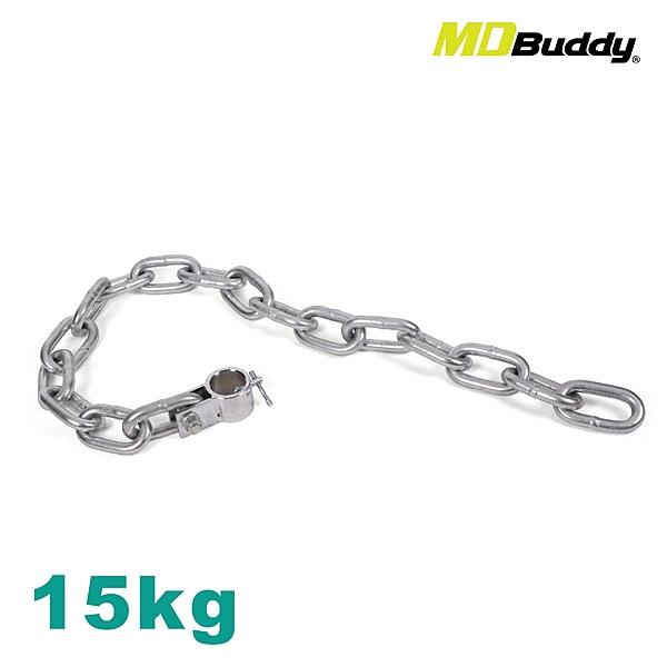 MDBuddy 重訓鐵鍊 15KG (免運 訓練 槓鈴 硬舉 健身≡體院≡ 60272