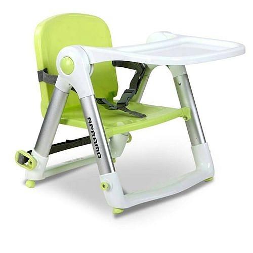 英國 Apramo Flippa dining booster 可攜式兩用兒童餐椅(QTI)-糖果綠[衛立兒生活館]