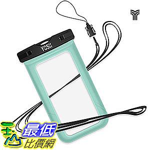[106美國直購] 防水手機套 B018FQ4DY4 Universal Waterproof Case, YOSH Cell Phone Dry Bag Pouch iPhone 6S Plus
